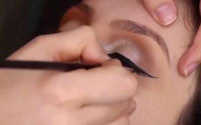 فیلم آرایش عروس اینستاگرام – آرایش چشم